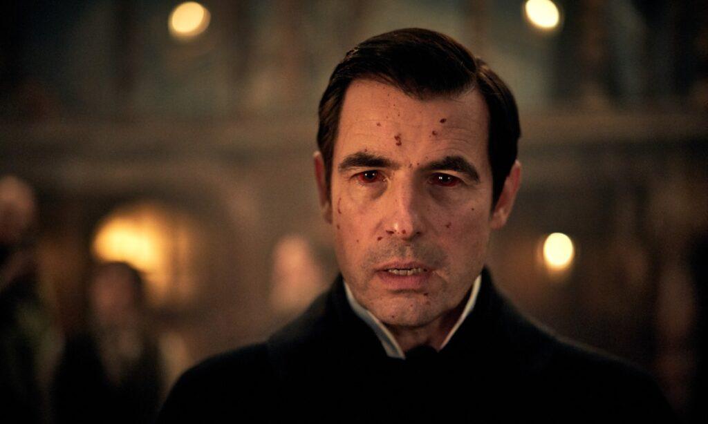 Claes Bang como el conde Drácula